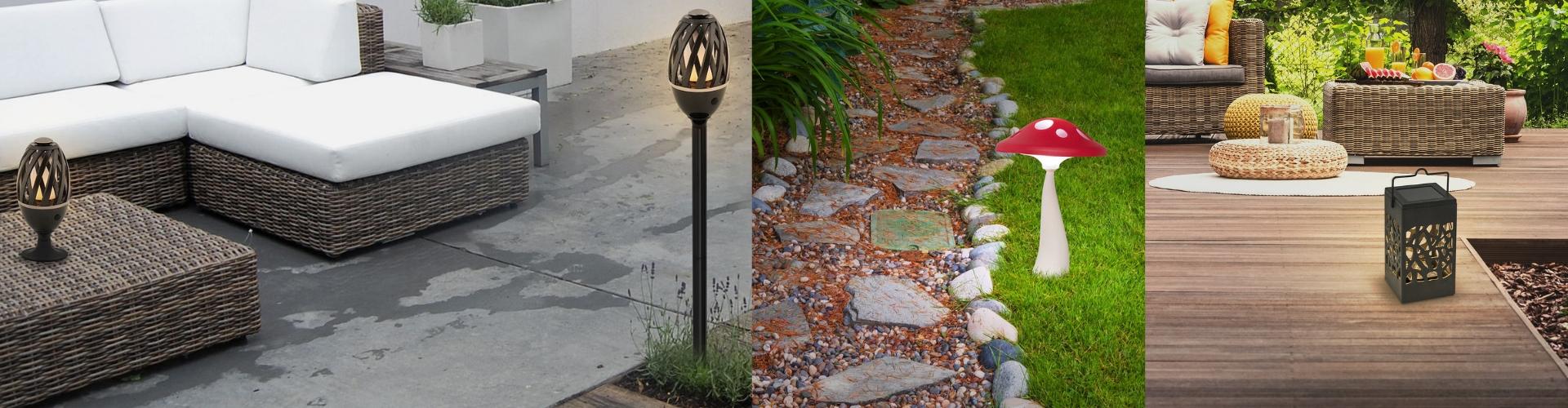 Зовнішні декоративні світильники